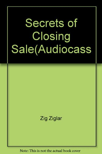 9780070728684: Secrets of Closing Sale(Audiocass