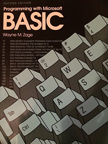 9780070728790: Programming With Microsoft Basic
