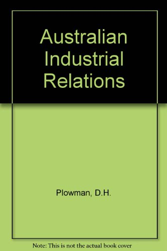 9780070729094: Australian industrial relations