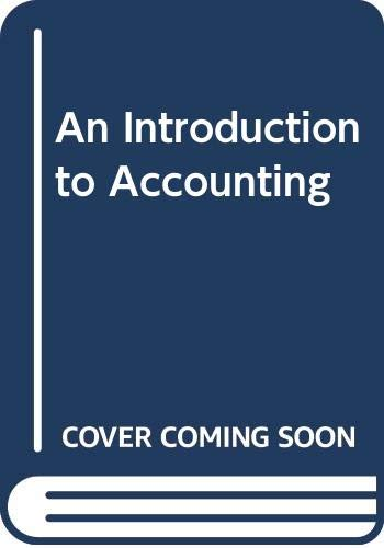 9780070729421: An Introduction to Accounting