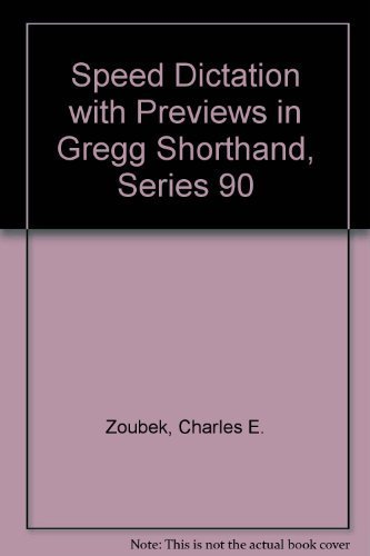 9780070730458: Speed Dictation With Previews in Gregg Shorthand, Series 90