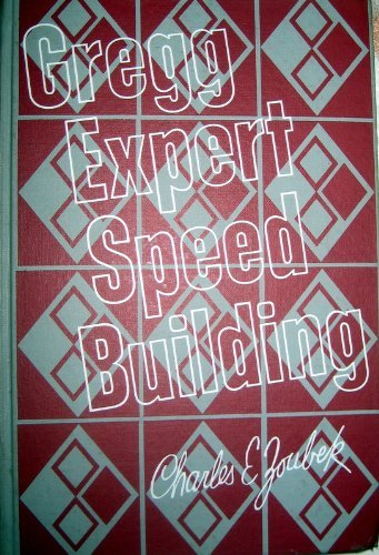 9780070730502: Gregg Expert Speed Building (Diamond Jubilee Series)