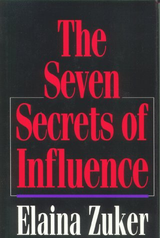 9780070730854: The Seven Secrets of Influence: Portable Power for the 21st Century
