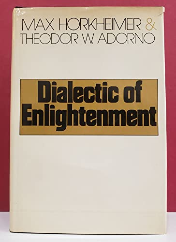9780070731479: Dialectic of enlightenment