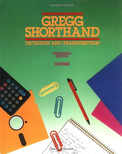 9780070736719: Gregg Shorthand: Dictation and Transcription