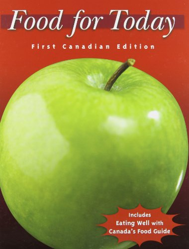 9780070737198: Food for Today - Revised First Canadian Edition