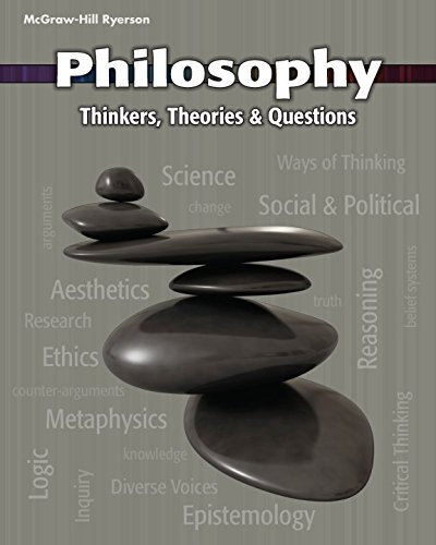 9780070738751: Philosophy: Thinkers, Theories and Questions - Student Text