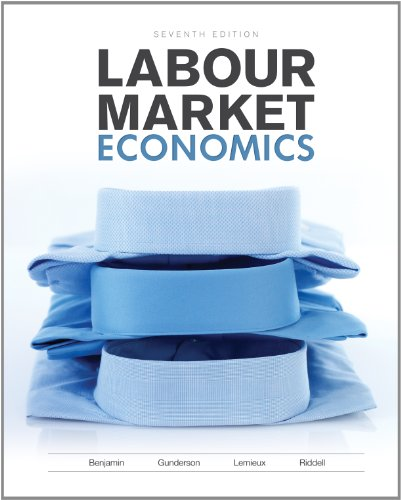 Labour Market Economics: Benjamin, Dwayne; Gunderson,