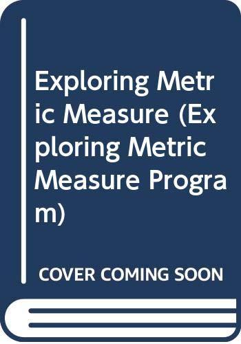 9780070776760: Exploring Metric Measure (Exploring Metric Measure Program)