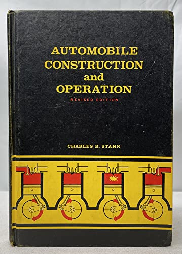 9780070776968: Automobile Construction and Operation