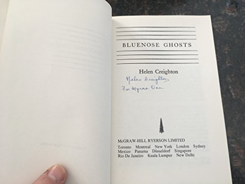 9780070777095: Bluenose Ghosts
