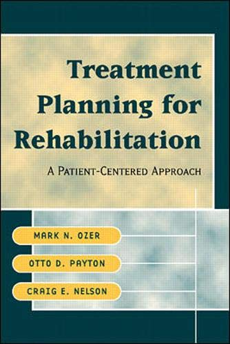9780070778825: Treatment Planning for Rehabilitation: A Patient-Centered Approach