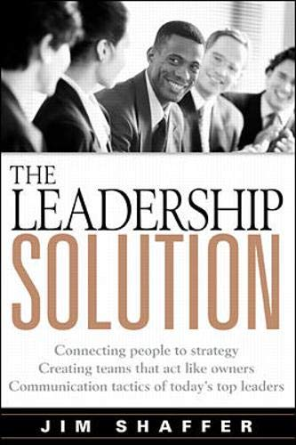 9780070790636: The Leadership Solution