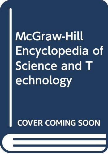 9780070792920: McGraw-Hill Encyclopedia of Science and Technology (McGraw-Hill Encyclopedia of Science & Technology (20v.))