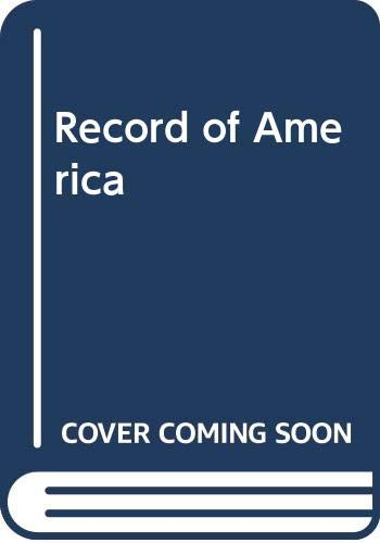 9780070793750: Record of America