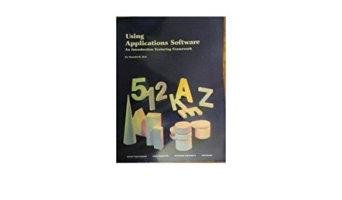 9780070796515: Using applications software: An introduction featuring Framework