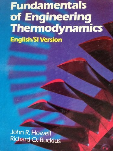 9780070796638: Fundamentals of Engineering Thermodynamics: English/Si Version/With Diskette