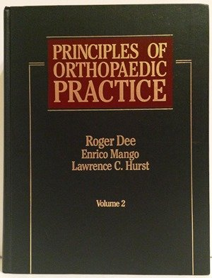 9780070799967: Principles of Orthopaedic Practice - Two Volumes