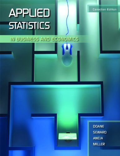 9780070813793: Applied Statistics in Business and Economics, Canadian Edition