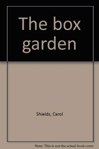 9780070825475: The box garden: A novel