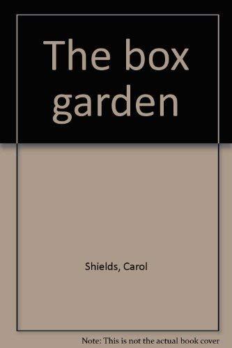 9780070825475: The box garden: A novel