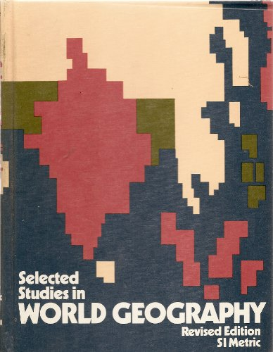 9780070825581: Selected Studies in World Geography