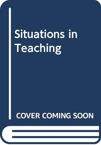 9780070840003: Situations in Teaching