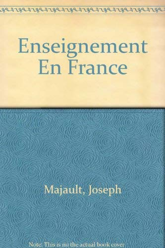 9780070840058: L'Enseignement en France