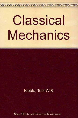 9780070840188: Classical Mechanics