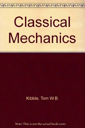 9780070840188: Classical Mechanics (European physics series)