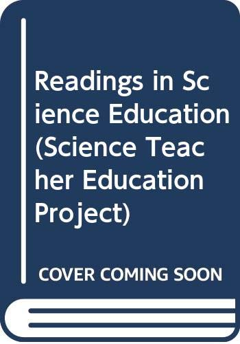 Readings in Science Education (Science Teacher Education: John Haysom, Clive