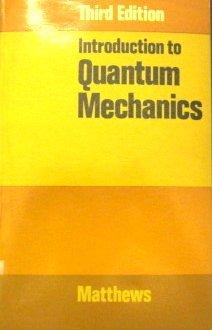 9780070840362: Introduction to Quantum Mechanics