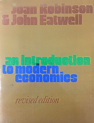 9780070840454: Introduction to Modern Economics