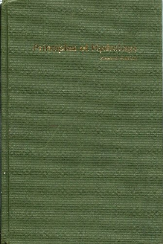 9780070840560: Principles of Hydrology
