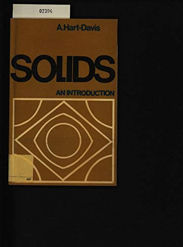 9780070840584: Solids: An Introduction