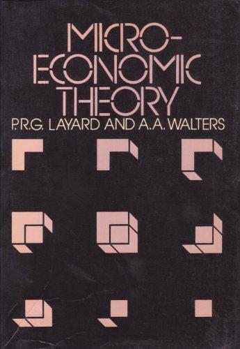9780070840768: Microeconomic Theory