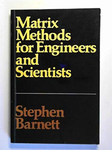 9780070840843: Matrix Methods for Engineers and Scientists