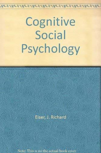 9780070841031: Cognitive Social Psychology
