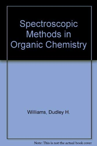 9780070841086: Spectroscopic methods in organic chemistry