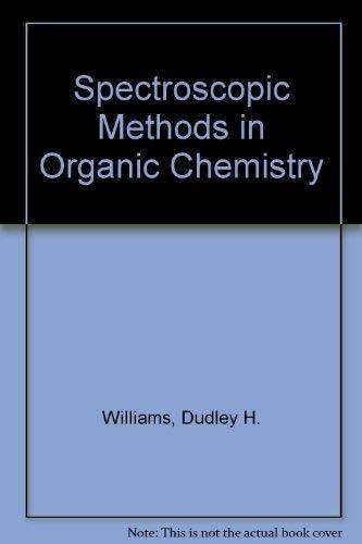 9780070841086: Spectroscopic Methods in Organic Chemistry