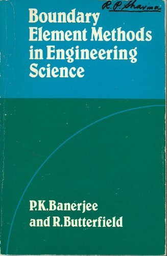 9780070841208: Boundary Element Methods in Engineering Science