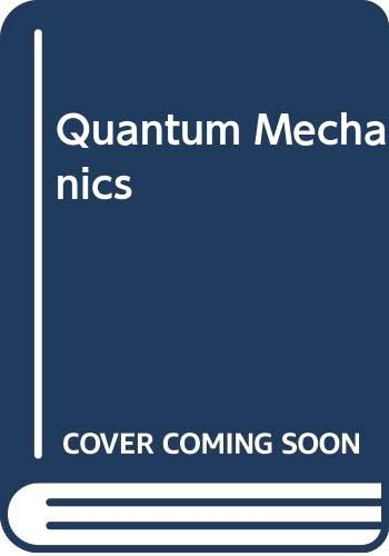 9780070841277: Quantum Mechanics