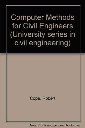 9780070841291: Computer Methods for Civil Engineers (University series in civil engineering)