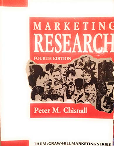 9780070841550: Marketing Research (The McGraw-Hill marketing series)