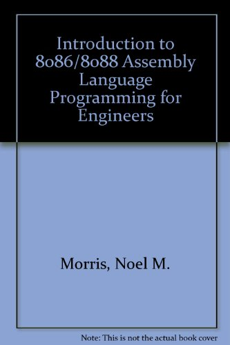 9780070841734: 8086/88 Assembly Language Programming for Engineers