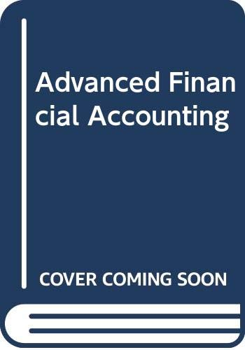 9780070841826: Advanced Financial Accounting