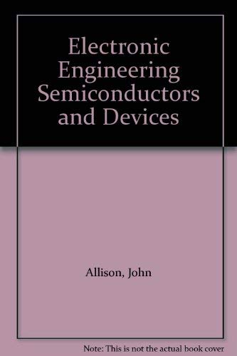9780070841949: Electronic Engineering Semiconductors and Devices