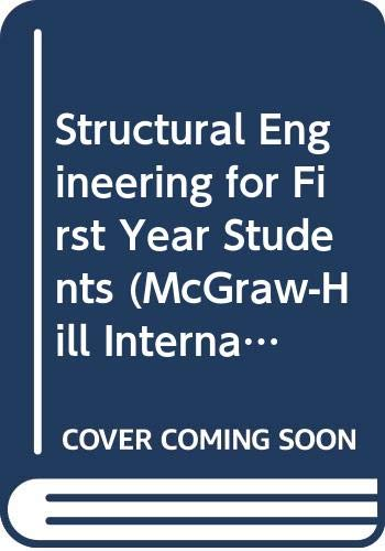 9780070841956: Structural Engineering (Mcgraw-Hill International Series in Civil Engineering)