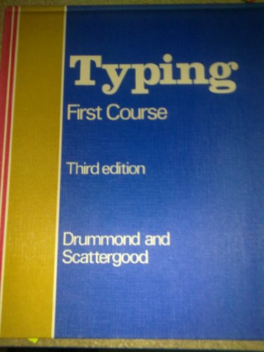 9780070842120: Gregg Typing: First Course