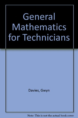 9780070842229: General Mathematics for Technicians